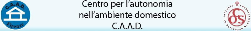 Centro per l'autonomia domestica c.a.a.d. - logo del CAAD